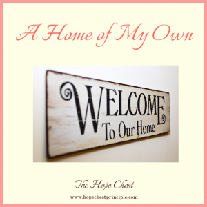 A Home of My Own